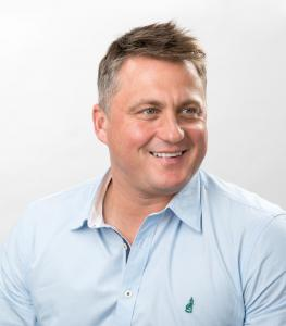 Darren Gough after